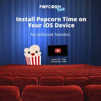 Popcorn Time, une application semblable à Netflix, arrive sur iOS