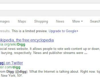 Pourquoi Digg a t-il été retiré des résultats de recherche de Google puis réintégré ? – Digg n
