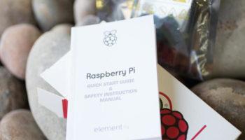 Raspberry Pi 2 : vue de dessus