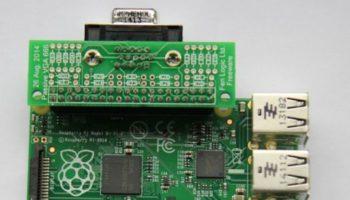 Raspberry Pi Model B+ : il peut gérer deux écrans avec un adaptateur VGA