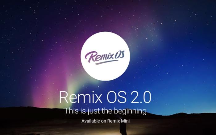 Jide lance la version bêta de Remix OS, avec une mise à jour over-the-air