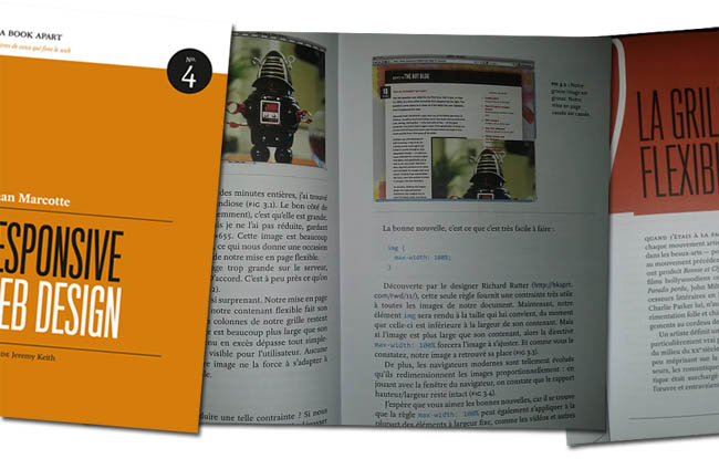Responsive Web Design : Aperçu du livre