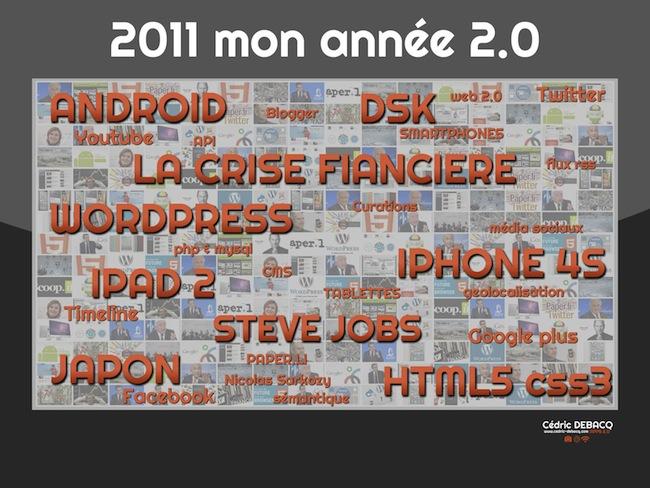 Rétrospective de l'année 2011 par des blogueurs et lecteurs – Cédric DEBACQ