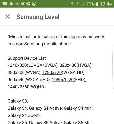 Le Galaxy S7 Active de Samsung aperçu dans l