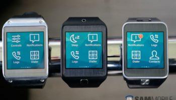 Samsung Galaxy Gear sous Tizen