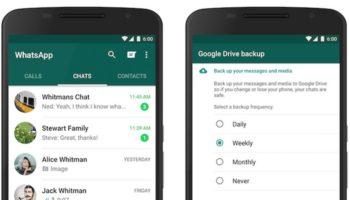 Vous pouvez sauvegarder tous vos messages WhatsApp sur Google Drive