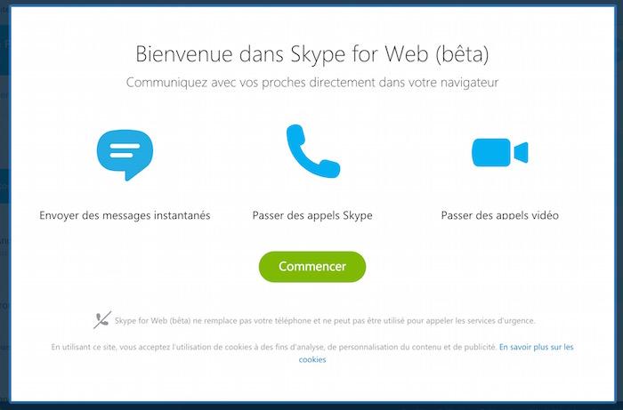 skype pour le web est officiellement lanc pour tous. Black Bedroom Furniture Sets. Home Design Ideas