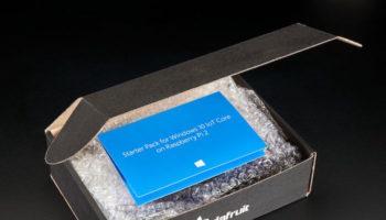 Starter kit Windows 10 Iot Core