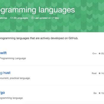 Swift déjà le numéro un des langages sur GitHub
