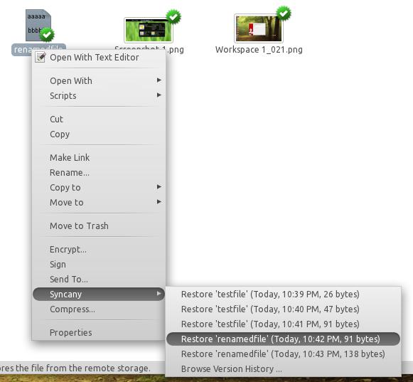 Syncany : Une alternative à Dropbox supportant de nombreux types de stockage