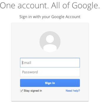 Tentative de fishing en cours avec une fausse authentification Google Drive