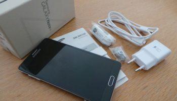 Galaxy Note 4 : boîte