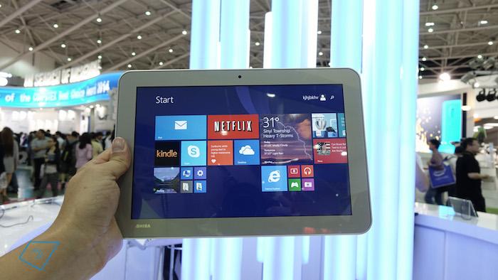 toshiba encore 7 une tablette de 7 pouces sous windows 8 1. Black Bedroom Furniture Sets. Home Design Ideas