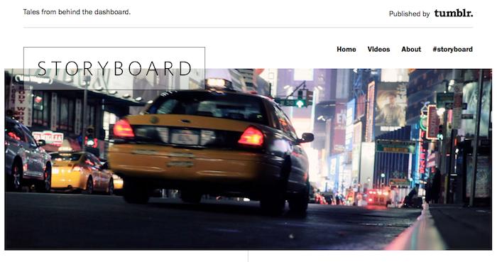 Tumblr lance un Storyboard pour découvrir les personnes derrière un blog Tumblr