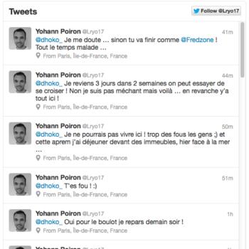 Twitter lance de nouvelles timelines intégrables