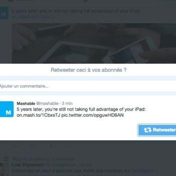 Twitter déploie la fonction