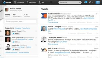 Ancienne version de Twitter.com