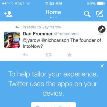 Twitter suit vos apps pour une