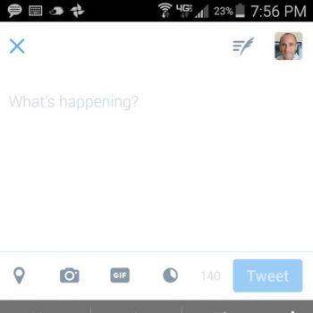 Twitter teste un bouton dédié aux GIF sur son application mobile