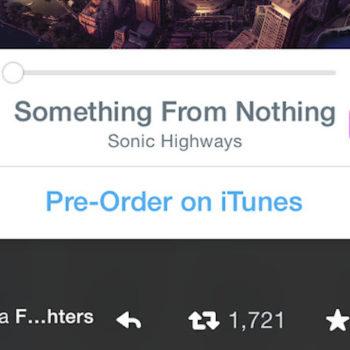 Twitter vous permet de diffuser de la musique depuis votre timeline