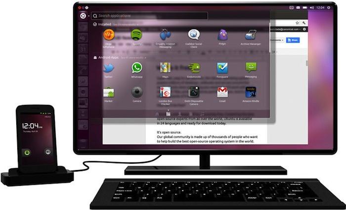 Ubuntu OS le futur smartphone des entreprises ?