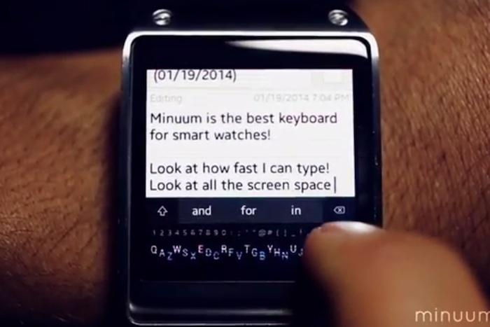 Un clavier miniature