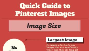 Un guide pour gérer au mieux vos images au sein de Pinterest