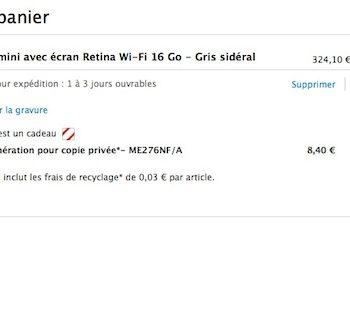 Un iPad Mini Retina est plus accessible que jamais