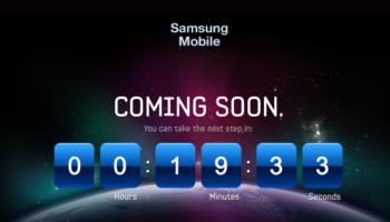 Un nouveau teaser pour Samsung et son