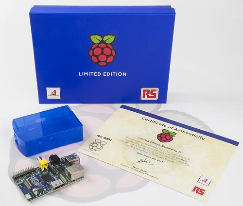 Un Raspberry Pi en édition limitée bleue, seulement 1000 sont disponibles