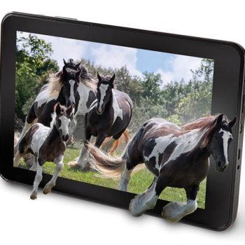 Une tablette avec du contenu 3D sans avoir besoin de lunettes