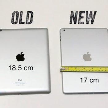 Comparaison de la largeur entre l