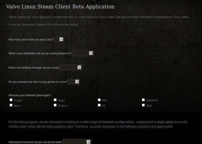 Valve pourrait lancer la version bêta de Steam sur Linux ce lundi lors de l