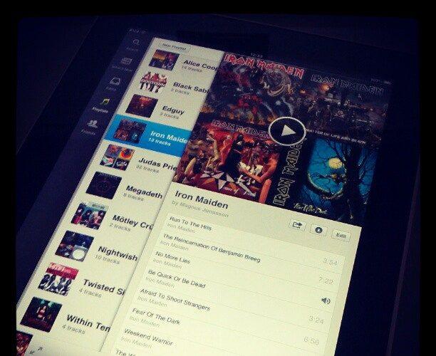 Vers une application Spotify officielle sur iPad ?