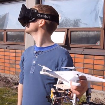 Virtual Insanity : une caméra 3D sur un drone contrôlé par des Oculus Rift