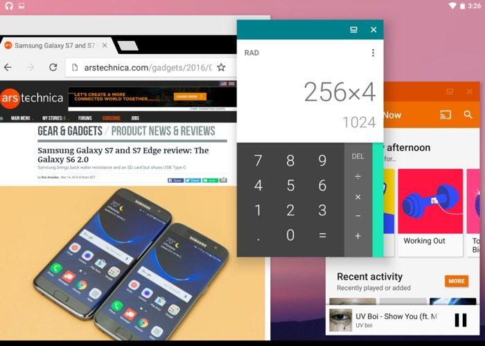 Voici à quoi Android N pourrait ressembler sur un ordinateur de bureau