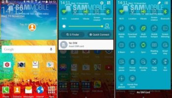 Android Lollipop sur le Galaxy Note 3