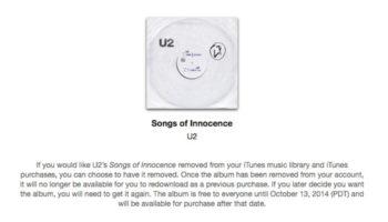 Voici comment supprimer cette album U2 sur iTunes