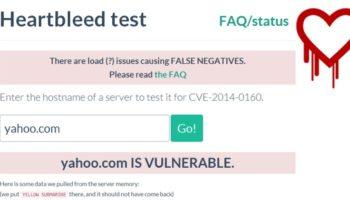 Voici une liste de sites qui auraient été affectés par le bug Heartbleed