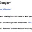 Vous pouvez maintenant autoriser qui peut vous informer des notifications sur Google+