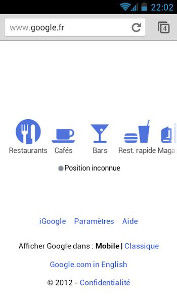 Vous pouvez maintenant rechercher sur Google en écrivant sur votre dispositif mobile