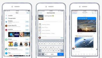 Vous pouvez partager des fichiers Dropbox directement depuis Messenger