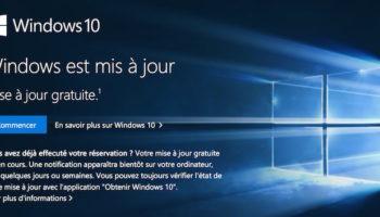Windows 10 a été installé sur 18.5 millions de machines