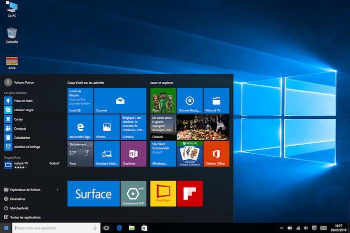 Windows 10 : la build 14295 est simultanément déployée pour les PC et les mobiles