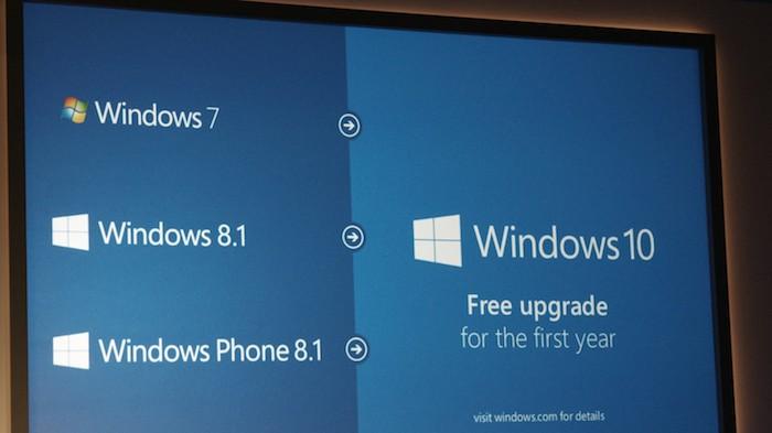 windows 10 une mise jour gratuite pour tous pendant un an. Black Bedroom Furniture Sets. Home Design Ideas