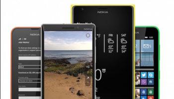 Ce seront les premiers Lumia à obtenir Windows 10 Mobile