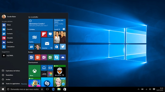 Certaines fonctionnalités de Windows 10 Redstone seront jusqu