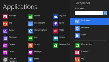 Windows 8 : trucs et astuces pour les nouveaux utilisateurs – Recherche par catégorie