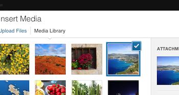 WordPress 3.5 est officiellement dans les bacs – Meilleure gestion de la galerie photos