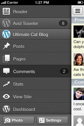 WordPress pour iOS obtient une mise à jour majeure concernant l